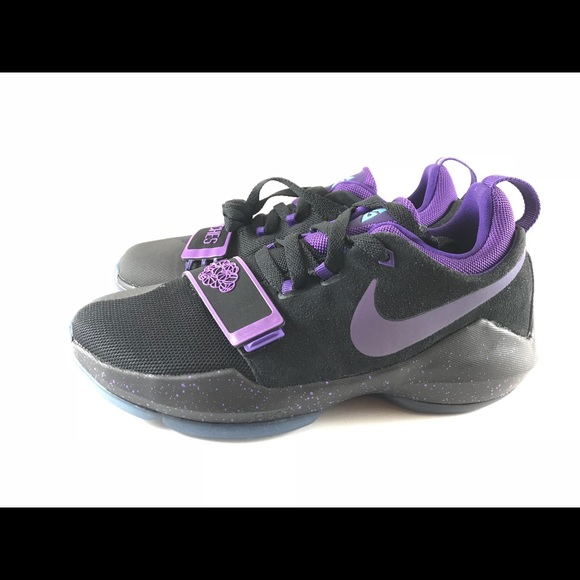 12adb3cf1aac Nike PG 1 Black Court Purple-Hyper Grape